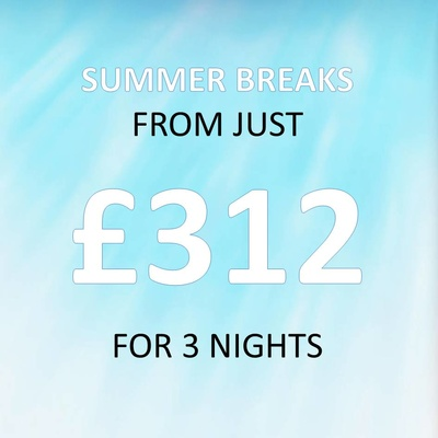 Summer Holidays from just £354 per caravan